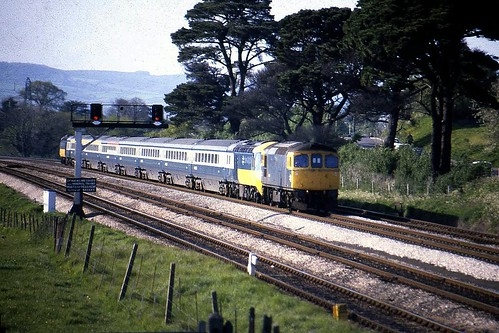 Class 33 33058  Newton Abbot 6/5/82 | by Stapleton Road