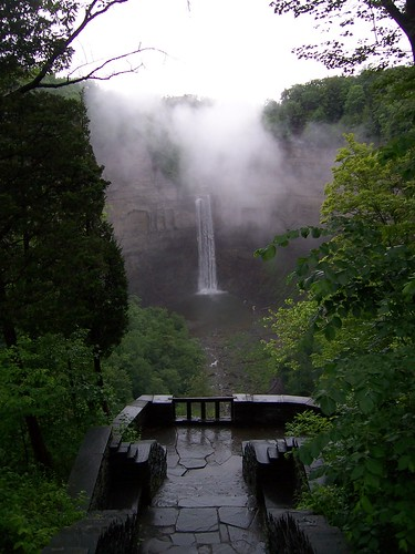 Taughannock Falls, Ithaca, NY. June 2009. | by She Who Shall Not Be Named