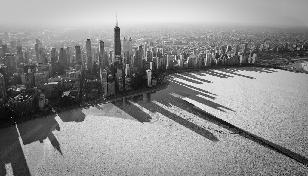 Chicago S Frozen Shadows My Time In A Cessna I Have A Flickr