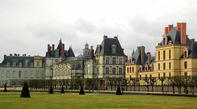 楓丹白露宮, Chateau de Fontainebleau