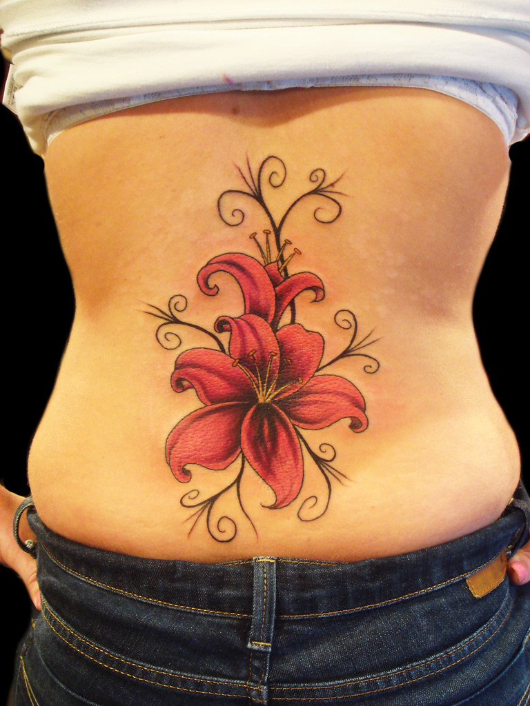 Lily flower tattoo miguel angel custom tattoo artist m flickr lily flower tattoo by miguel angel tattoo izmirmasajfo