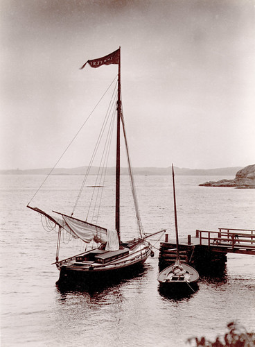 Moored sailboats, Lysekil, Sweden | by Swedish National Heritage Board