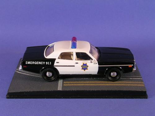 les voitures de james bond 007 dodge monaco police du f. Black Bedroom Furniture Sets. Home Design Ideas