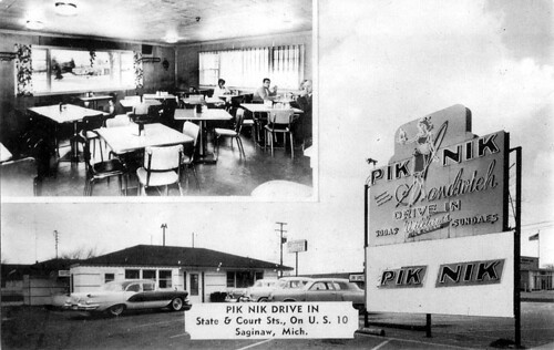 Pik Nik Drive In - Saginaw, Michigan | by Vintage Roadside