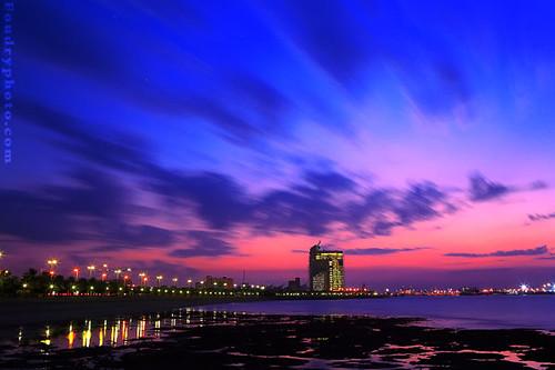 baby colors sunset kuwait landscape waterscape sunse flickr