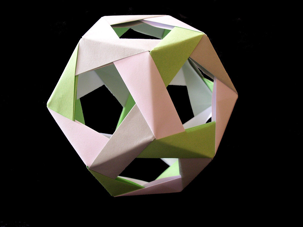 Origami Dodecahedron Daniela Flickr