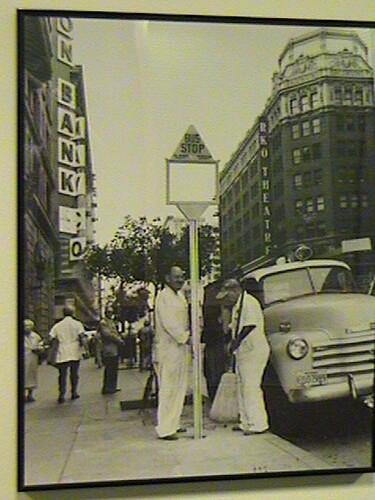 picture Vintage bus stop