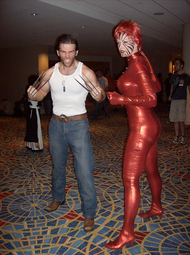 Wolverine and Rachel Summers, DragonCon 2009 (Friday) | by thatdjspider