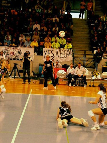 Finale coupe de france de volley ball f minin 2009 cannes flickr - Volley ball coupe de france ...