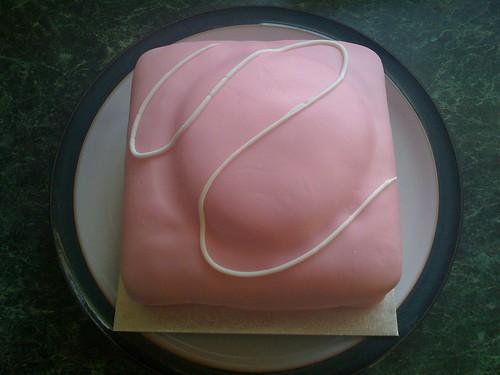 Giant French Fancy Cake Tesco