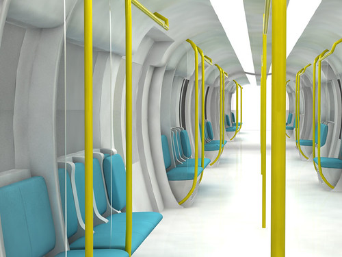 Lao Jinahua - Tube train-3 (concept design) | by V&A blogs