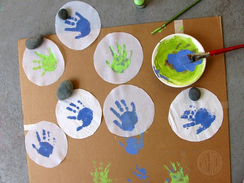 handprints! | by secret agent josephine