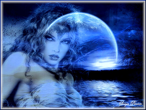~ Vamp in the Moonlight ~ | by sonja_pinion