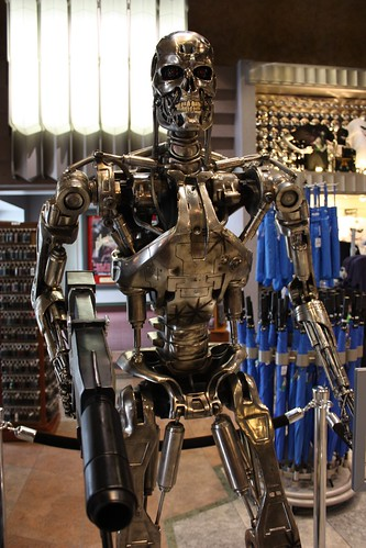 Terminator statue | by ewen and donabel