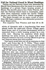 National Guard Called in Miami Racist Bombings - Jet Magazine, December 13, 1951 | by vieilles_annonces