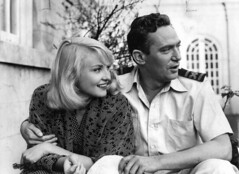 Diane Cilento with Peter Finch | by State Library of Queensland, Australia