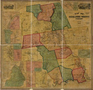 Map of Middlesex County, Connecticut | by uconnlibrariesmagic