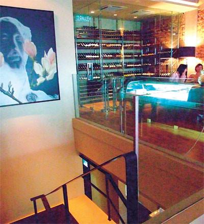 Leonardo s dining room wine loft enlightened eatery for Leonardo s dining room
