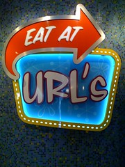 Eat At URL's Sign | by Schill