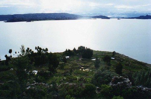 Lake Titicaca from la Isla de Amantani | by wallygrom