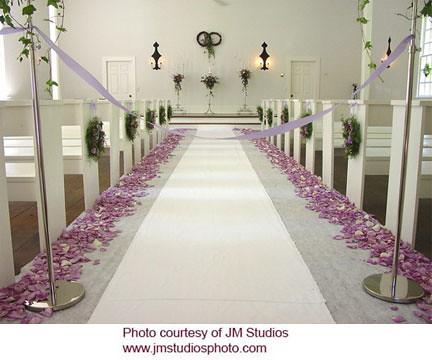 Lavender Rose Petal Wedding Aisle by Beikmann Associates | Flickr