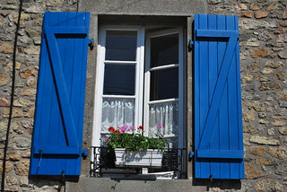 Blue Shutters | by goingslowly