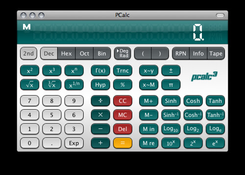 Slashdot theme for PCalc | by pudge