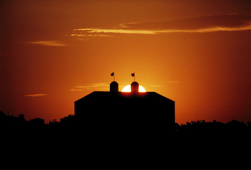 Fraser Hall sunset | by The University of Kansas Official Flickr Site