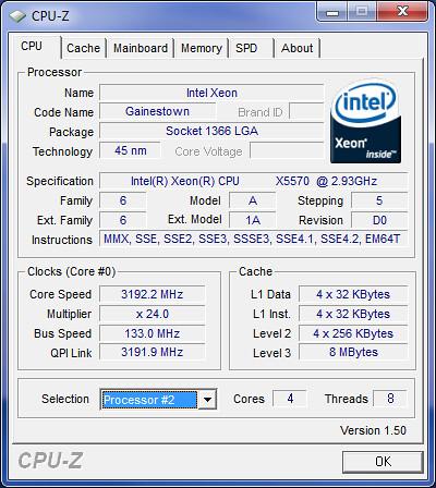 Mac Pro Nehalem Turbo Boost | Testing Turbo Boost feature of… | Flickr