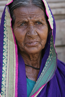 Portrait of an elderly woman | by World Bank Photo Collection