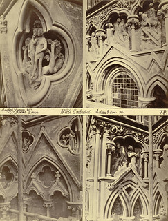 """The Creation,"" Niche Sculptures, Wells Cathedral West Façade 