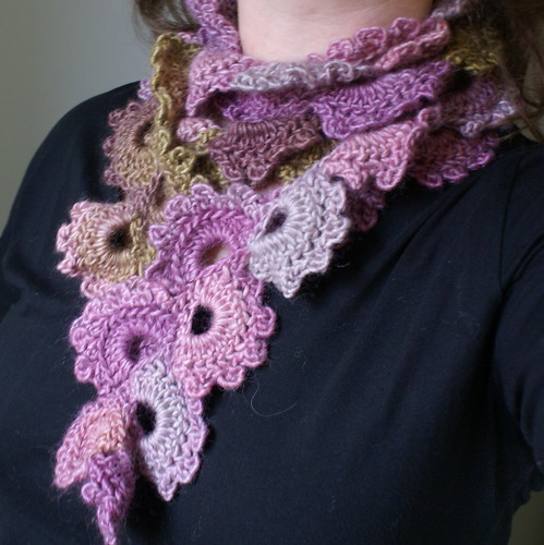 Queen Annes Lace scarf When I started to crochet, my ...