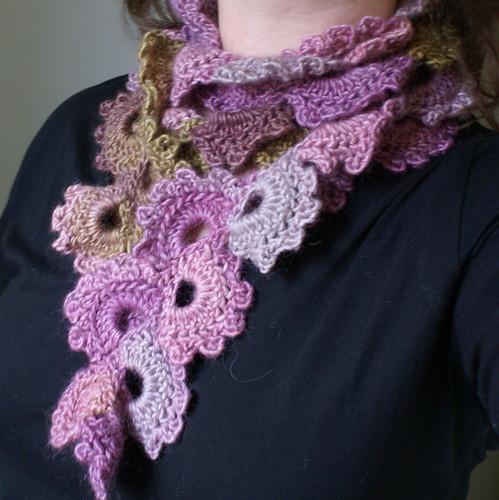 Free Crochet Pattern Queen Anne Lace Scarf : Queen Annes Lace scarf When I started to crochet, my ...