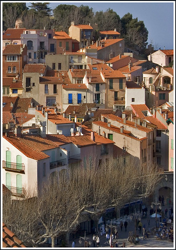 Rita Crane Photography: Rooftops of Collioure, France | by Rita Crane Photography