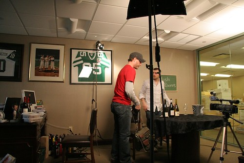 Wine Library TV Pre-Shoot | by mutineermagazine