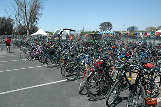 Bike Valet @ Maker Faire | by grrsh