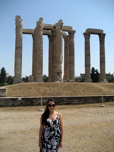 Athens- Temple of Zeus 2009