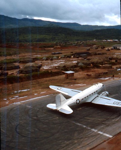 Dak To Airstrip C123 Ready For