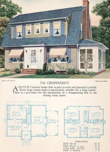 1928 Home Builders Catalog The Cronhardt