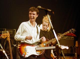 Talking Heads 1982 | David Byrne & Tina Weymouth