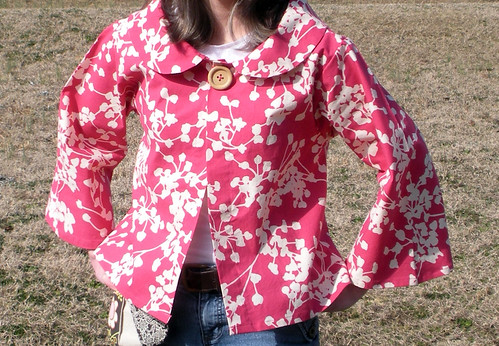 Afternoon tea jacket Pattern | by Sew Spoiled