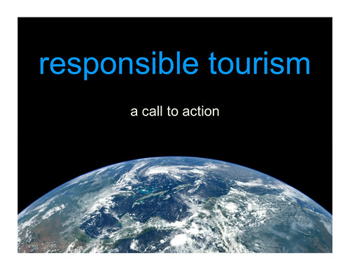 responsible tourism: a call to action | by planeta