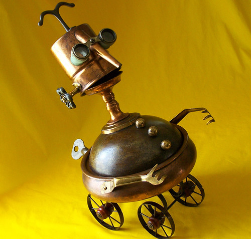 robot assemblage sculpture * CODGER | by Reclaim2Fame