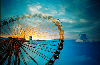 Ferris Wheel and Sunset | by saviorjosh