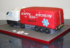 Lorry Shaped Cakes