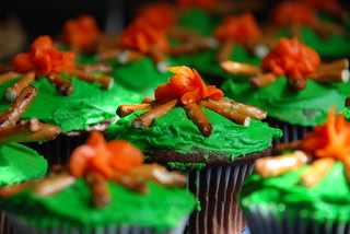 camping cupcakes | by meeshku