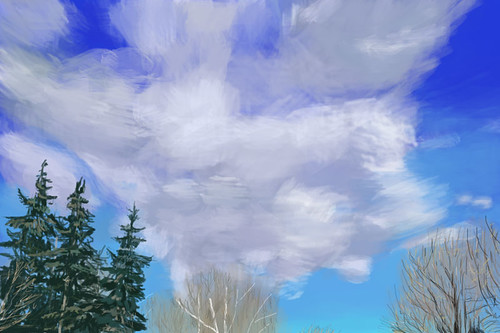 Texture Study 2 - Clouds | by jimblodget