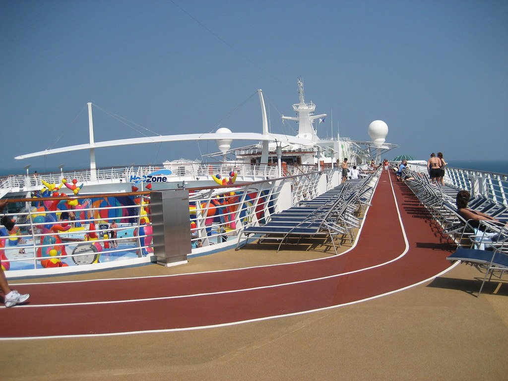 Running Track Independence Of Seas Running Track Atlassb Flickr - Cruise ship locater