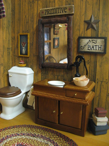 Dollhouse Country Bath Primitive Www