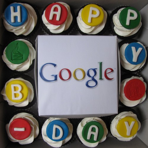 Google Birthday Box! | by clevercupcakes